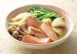秋鮭と野菜のみそバター煮