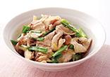 豚肉ときのこの中華風煮