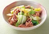 豚バラと白菜の煮物