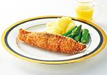 鮭フライレモンソース