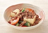 ミンチと豆腐の煮物