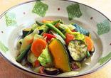 夏野菜の蒸し煮