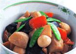 さといもととり肉の中華風煮物
