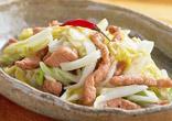 豚肉と白菜の甘酢炒め