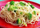 ブロッコリーのスパゲティ