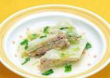 白菜とミンチの重ね煮