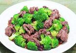 牛肉とブロッコリーのオイスターソース蒸し