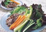 焼肉&野菜スティック