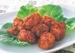 韓国風とり肉のから揚げ