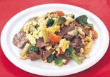 牛肉と野菜の中国風炒め