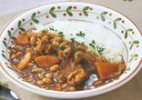 チキンと大豆のカレー