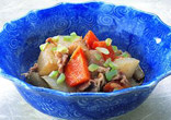 豚肉と根菜のみそ煮