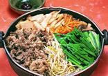 韓国風牛鍋