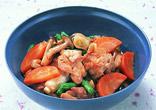 鶏肉の七味煮