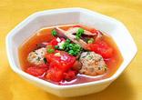トマトと肉団子のスープ煮
