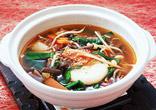 もち入り韓国風スープ