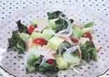 メロンのサラダ