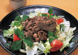 韓国風焼肉サラダ