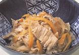 豚肉と切り干し大根の煮物