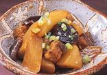 大根と豚バラのピリ辛煮