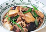 豚肉と焼豆腐の炒めもの