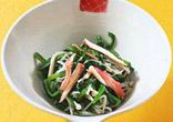 えのきと菊菜の煮びたし