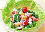 伊予柑のサラダ