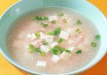豆腐と明太子のとろみ汁