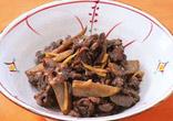 牛肉とごぼうの当座煮