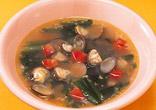 しじみの中国風スープ