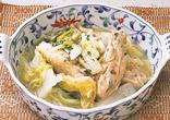 白菜と手羽中のスープ煮