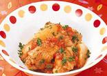 大根と手羽元のトマト煮