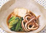 いかと豆腐の煮物