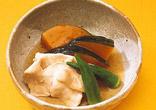 鶏肉とかぼちゃの含め煮