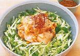 ほたての韓国風丼