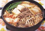 キノコたっぷりキムチ鍋