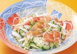 白菜と生ハムのサラダ