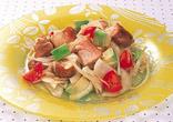 鶏肉と新たまねぎのおかずサラダ