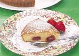 いちご畑のケーキ