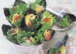 花束の手巻き寿司