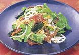カリカリ豚のサラダ