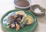 夏野菜とえびの天ぷら