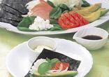 洋風手巻き寿司