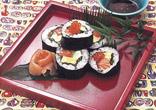 親子巻き寿司
