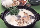 鮭と大根の牛乳鍋