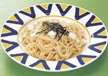 たらこと長芋のスパゲッティ