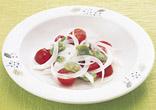トマトとそら豆のサラダ
