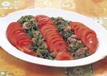 牛肉とトマトのしょうがサラダ