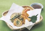 えびと帆立の天ぷら