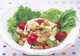 豆腐と大豆の彩りサラダ